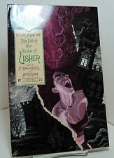 Classics Illustrated - The Fall of the House of Usher by Edgar Allan Poe -  1990
