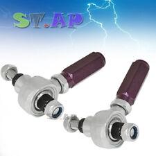 Fits 240Sx S14 Sr20 Rear Adjustable Replacement Tie Rod End Link Arms Purple