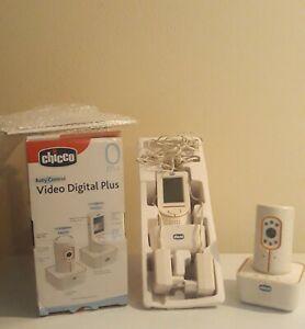 Chicco Baby control Video Digital Plus - monitor,luce notturna,audio,infrarossi