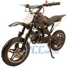 FREE SHIPPING KIDS 49CC 2 STROKE GAS MOTOR DIRT MINI POCKET BIKE BLACK I DB50X