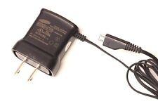 Genuine Samsung Wall Charger Travel AC Power Adapter ETA0U10JBE Micro USB Cable