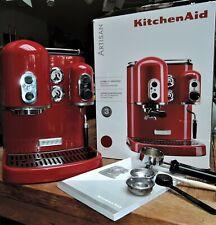 KITCHEN AID ESPRESSOMASCHINE EMPIRE RED 5KES2102EER KAFFEE MASCHINE ESPRESSO