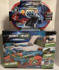 NEW POWER TREADS ALL SURFACE STUNT VEHICLES RACE TRACK NEW IN THE BOX 2 SET LOT