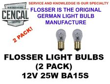 FLOSSER LIGHT BULB 12V 25W BA15S 1156,7582 88254023344 (QTY 2)   8671