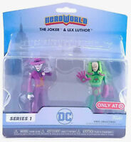 New Funko Heroworld Series 1 DC The Joker & Lex Luther Target Exclusive