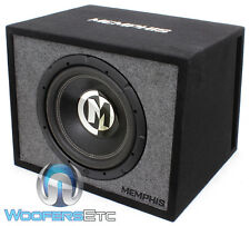"MEMPHIS 12"" CAR SUB 600W + LOADED SUBWOOFER BASS SPEAKER PORTED MDF BOX NEW"