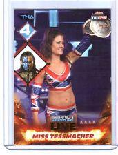 TNA Miss Tessmacher #108 2013 Impact Wrestling LIVE GOLD Parallel Card SN 14/50
