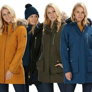 Regatta Womens Serleena Waterproof Parka Jacket Ladies Outdoor Rain Coat