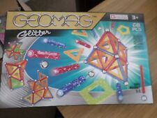 GEOMAG GLITTER 68 PIECE MAGNETIC CONSTRUCTION NEW FREE POST UK