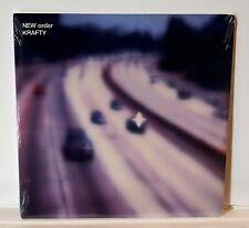 "NEW ORDER Krafty VINYL 2x12"" LP SEALED Joy Division"