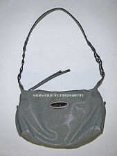 ROSETTI - DESIGNER SHOULDER BAG - PURSE - HEATHER GRAY - TEXTILE LEATHER –NEW$39