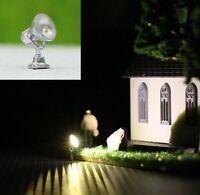 S154 - 5 Stück LED Flutlichtstrahler Bau- u. Fassadenstrahler Flutlicht Strahler