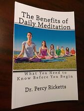 New The Benefits of Daily Meditation (English) Dr. Percy Ricketts
