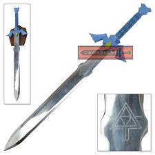Legend of Zelda Master Sword Full Tang Steel Replica Wind Waker Triforce Etched
