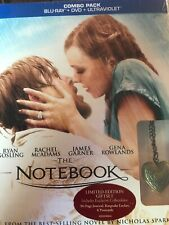 The Notebook Limited Edition Gift Set (Blu Ray + DVD) NEW