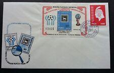Peru Argentina World Cup Football 1978 Soccer Sport Games (miniature FDC) *rare