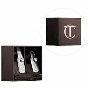 1- Charlotte Tilbury Dual Size Pencil Sharpener for Eye & Lip ROSE GOLD NEW!