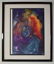 "Original '67 Salvador Dali Biblia Sacra #54 ""Vanitas vanitatum"" Signed - COA"