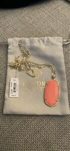 Kendra Scott Long Coral Necklace