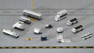 GeminiJets 14 Piece Airport Ground Accessories Set 1/400 Scale