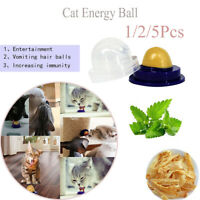 Candy Licking Healthy Solid Catnip Sugar Pet Food Cat Energy Ball Kitten Snacks