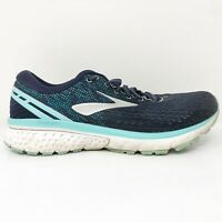Brooks Womens Ghost 11 1202771B493 Blue Running Shoes Lace Up Low Top Size 9 B
