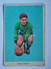 VECCHIA FIGURINA RASA calcio football TESCONI MARIO Venezia 1961