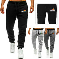 Mens Fleece Slim Joggers Designer Gym Tracksuit Jogging Bottoms Warm Sweat Pants