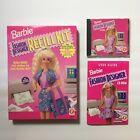 Barbie Fashion Designer Pc Computer Cd-rom 1996 Software + Sealed Refill Kit