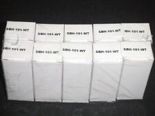 Lot of 10 LINEAR SINGLE LAMP FIXTURE SBH-101-WT by WAC Lighting NEW Reg. $58