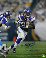 Adrian Peterson Signed Minnesota Vikings 16x20 Photo 2097 Yards BAS 25965 PF