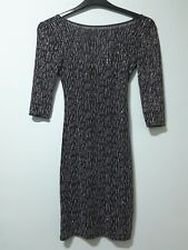 Open-Minded New Look Maternity Dress Black Gold Size 8 £22.99 Dresses Women's Clothing