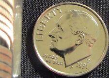 1991-D Denver Mint Roosevelt Dime BU