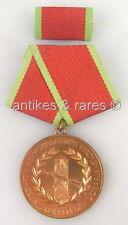 DDR Verdienstmedaille der Grenztruppen der DDR in Bronze