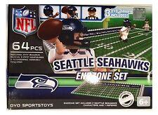 Seattle Seahawks NFL 64 PEZZI Oyo fine zona Toy Figure Set