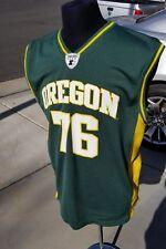 0258ea9cb01 Vintage Oregon DUCKS Basketball JERSEY Starter SHIRT Men's LARGE 1990's Top