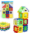 24pcs Colorful Baby Kids Children House Building Block Educational Puzzle Toy