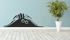 Wandtattoo - Monster - Augen, Spion, Tür Wand  Aufkleber Dekoration Fenster KFZ