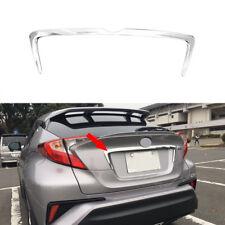 fit 2016-2018 Toyota C-HR CHR Chrome Rear Trunk Lid Cover Molding Trim Garnish