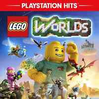 LEGO Worlds Sony Playstation 4 Hits BRAND NEW FACTORY SEALED PS4 Free Shipping