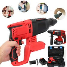 Electric Sds Cordless Brushless Rotary Hammer Drill Perforator 1500w With Case