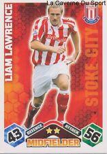 LIAM LAWRENCE IRELAND STOKE CITY.FC PAOK.SALONIKI CARD PREMIER LEAGUE 2010 TOPPS