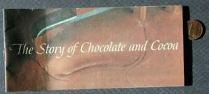 1964-65 Hershey Pennsylvania Hershey's Story of Chocolate and Cocoa booklet!