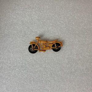 Vintage Indian Motorcycle Miniature Plastic Diecast Made in Hong Kong