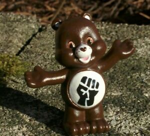"Custom Created BLACK LIVES MATTER CARE BEAR 2"" PVC Mini Figure Blind Bag BLM"