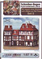 Schreiber-Bogen Kartonmodellbau Altstadt-Set 5