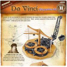 Academy Da Vinci Machines Series Flying Pendulum Clock Plastic Model Kit #18157