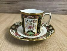 More details for royal crown derby chelsea garden espresso cup with saucer