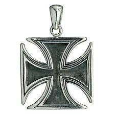 IRON CROSS Silver 11.5g Sterling 925 Eisernes Kreuz military BELDIAMO Pendant-S