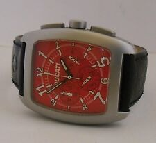 Ducati Chronograph Red Dial New Battery Esfera Roja Ducati Cronografo Nueva Pila